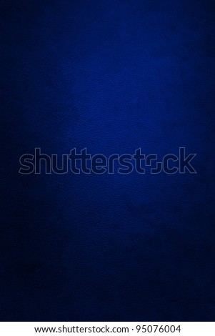 blue leather - stock photo