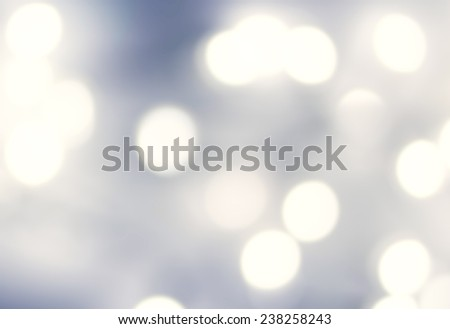 Blue Lights Festive Christmas  background with texture. Abstract Christmas twinkled bright background with bokeh defocused   lights  white color.  - stock photo