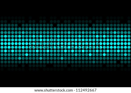 blue lights - vector abstract background - stock photo