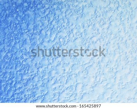 blue mosaic background - stock photo
