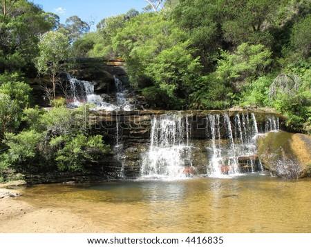 Blue Mountains, New South Wales, Australia - stock photo