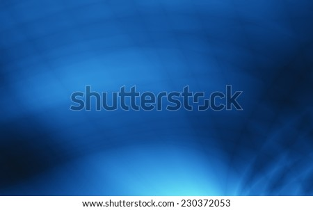 Blue ocean abstract template modern card design - stock photo