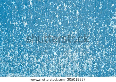 Blue paper for creativity - stock photo