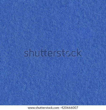 Blue paper. Seamless square texture. Tile ready. - stock photo