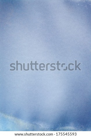Blue paper texture, may use as background. - stock photo