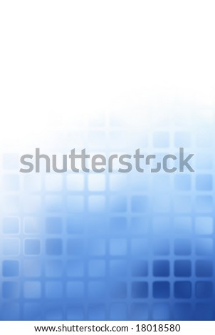 Blue pattern with copyspace - stock photo