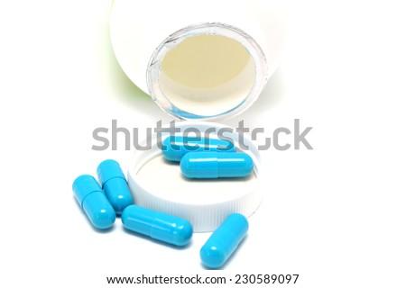 White viagra pill