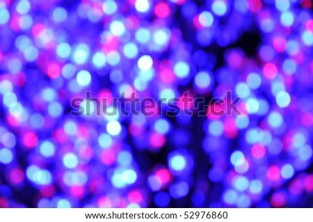 Blue Pink Led Light Blur Color - stock photo
