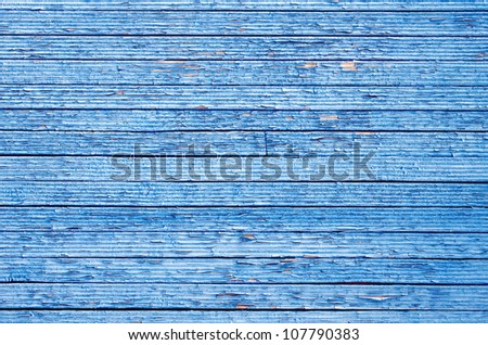 Blue plank abstract texture background. - stock photo