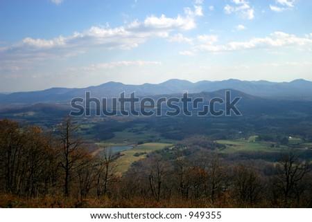 Blue Ridge - stock photo