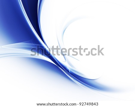 Blue shadows abstract background - stock photo