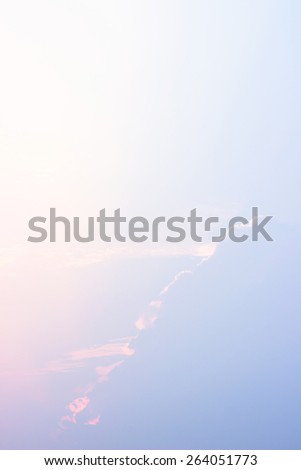 Blue sky and clouds sky  - stock photo