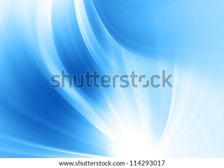 blue soft background - stock photo