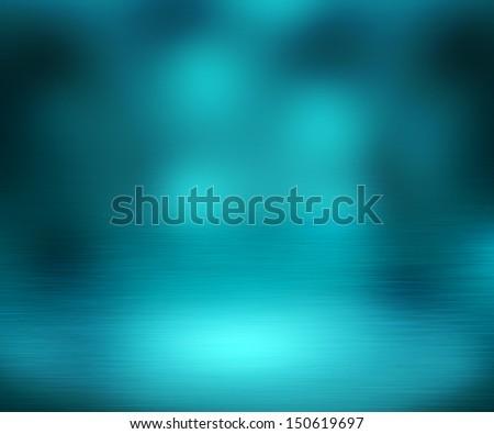 Blue Spotlight Background - stock photo