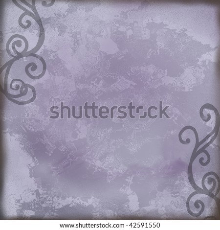 blue square background tile - stock photo