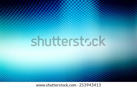 Blue tone abstract perspective background - stock photo