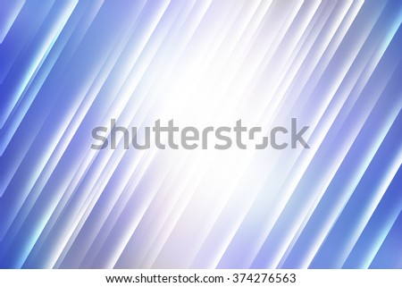 Blue tones with light rays used to create abstract background  - stock photo