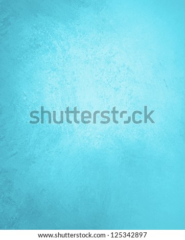 blue vintage background, brochure layout paper, light pastel blue with bright corner spotlight, vintage grunge background texture layout, abstract gradient background, luxury blue paper or wall paint - stock photo