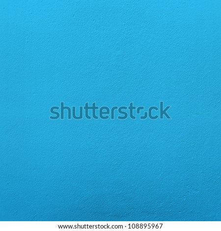 blue wall - stock photo