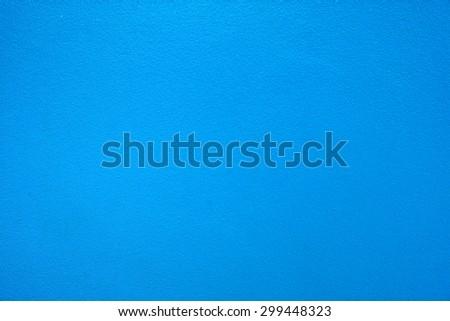 Blue walls - stock photo
