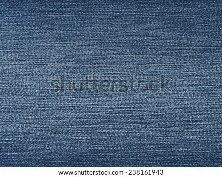 Blue washed jeans fabric surface background, denim material texture - stock photo
