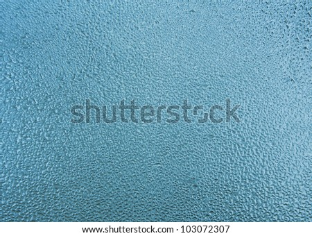 Blue water background - stock photo
