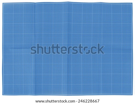 Blueprint background texture. Technical backdrop paper - stock photo