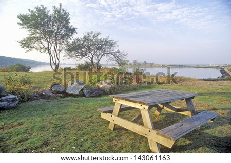 Bluff Point State Park, Groton, Connecticut - stock photo
