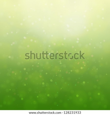 blur abstract background,  gradient, green and yellow. - stock photo