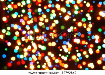 blur abstract color background - stock photo