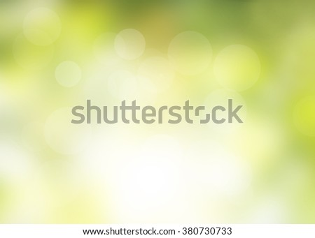 Blur bokeh green leaf background.Blurry Leaves Light Nature advertising Flare Sunbeam Rays Abstract Scene Medical Sunlight Spring White Greenery Lens View Pastel Outdoor Soft Focus Open Summer Foliage - stock photo