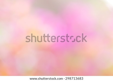 Blur bokeh pattern background by the light and the sun - stock photo