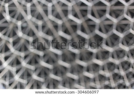 blur hexagon geometry structure abstract for background - stock photo