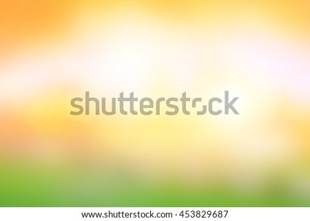 Blur nature backdrop. Under the bright sun. Abstract natural backgrounds - stock photo