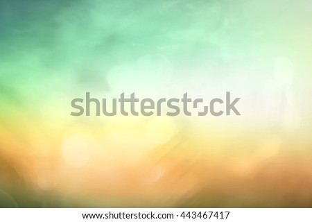 Blur Nature Bokeh View Soft Park Grass Art Farm Meadow 2016 2017 land Light Clean Fresh Plant Tree Lawn Flora Garden Flower Place Color Bright Design Beauty CSR Peace City Sunny Zen Spa concept - stock photo