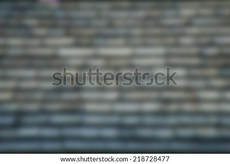 Blur of Roof Texture BG - stock photo