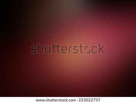 Blur red abstract background - stock photo