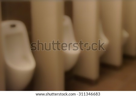blur toilet for use as Background - stock photo
