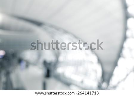 Blurred background, modern architecture. - stock photo