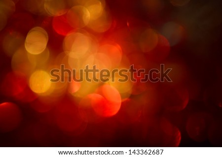 Blurred, bokeh lights background. Abstract sparkles. - stock photo