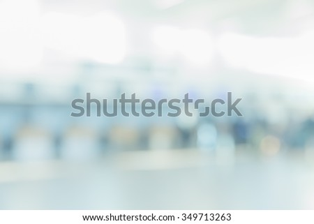 BLURRED BUSINESS BACKGROUND - stock photo