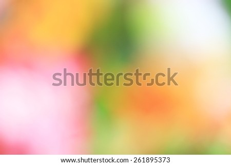 blurred flowers background - stock photo