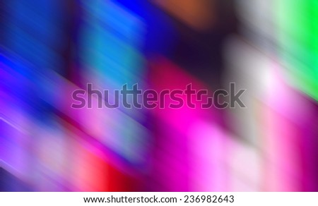 Blurred lights on black background,Abstract blue background,Christmas background. Festive elegant abstract background with bokeh lights of blur - stock photo