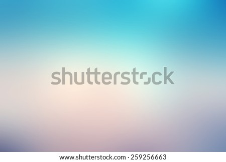 Blurred nature gradient background - stock photo