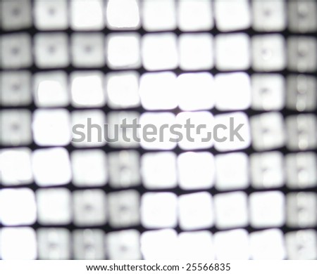 Blurred silver, abstract 80s style background. More of this motif in my port. - stock photo