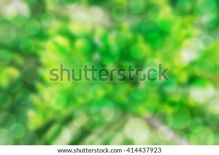 Blurry Abstract Bokeh Background - stock photo