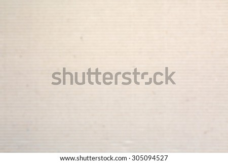 Blurry corrugated cardboard texture for Poster gift background - stock photo