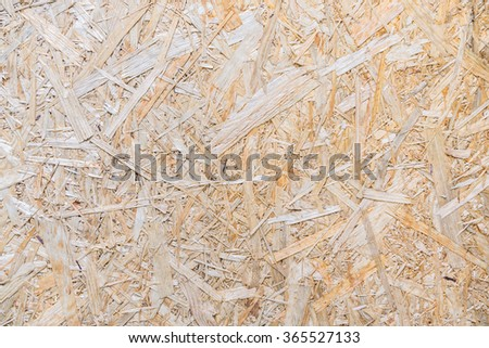 Board, plywood, wood pulp, PARTICLE BOARD, laminated wood shavings,Compressed light brown wooden texture - stock photo