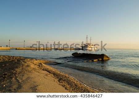 boat - stock photo