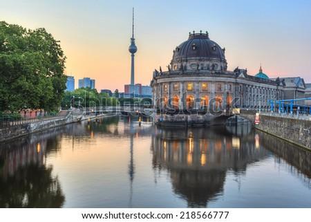Bode Museum, Berlin, Germany - stock photo